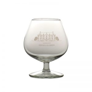 Water of Life Glass Wine Castle Genoels-Elderen