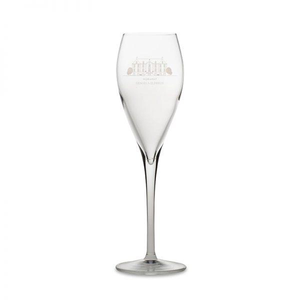 Parel glas Wijnkasteel Genoels-Elderen