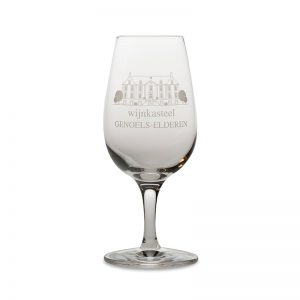 Wijnglas Wijnkasteel Genoels-Elderen