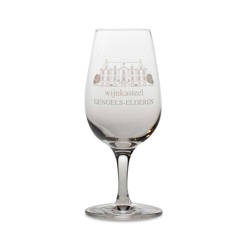Wine Glass Wine Castle Genoels-Elderen