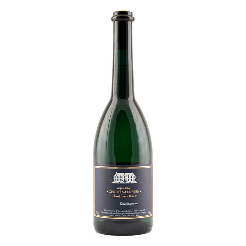 Fles Chardonnay Blauw Wijnkasteel Genoels-Elderen