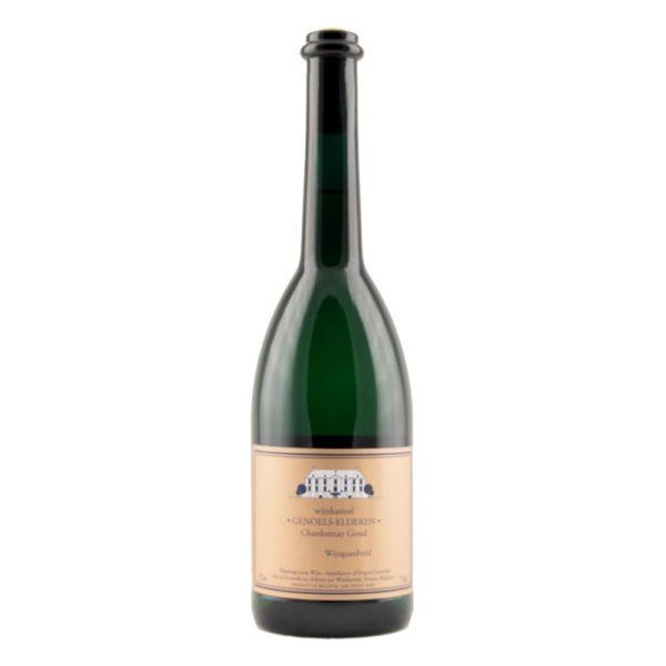 Fles Chardonnay Goud Wijnkasteel Genoels-Elderen