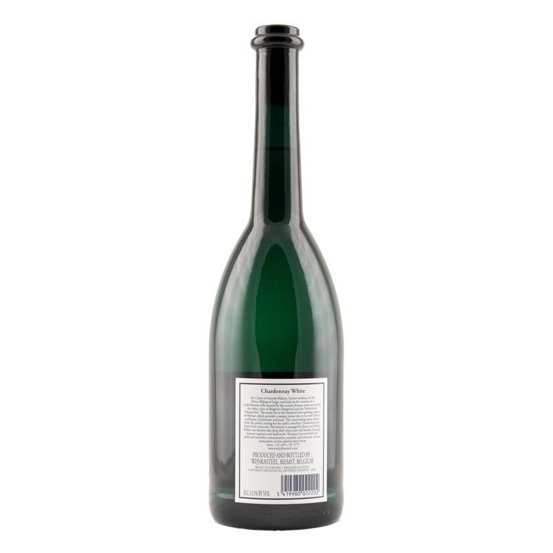 Bottle Chardonnay White Wine Castle Genoels-Elderen