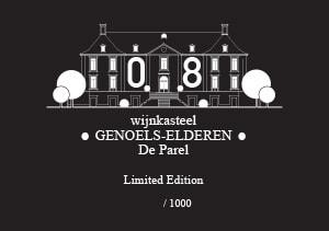 Label bottle The Pearl 08 Wijnkasteel Genoels-Elderen